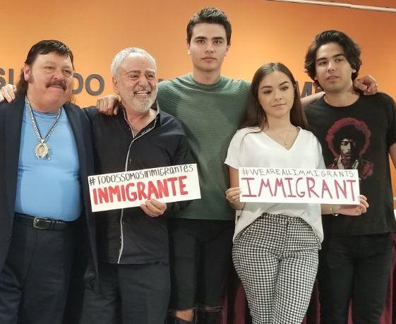 Movimiento promigrante presenta en California 'Sueño americano'